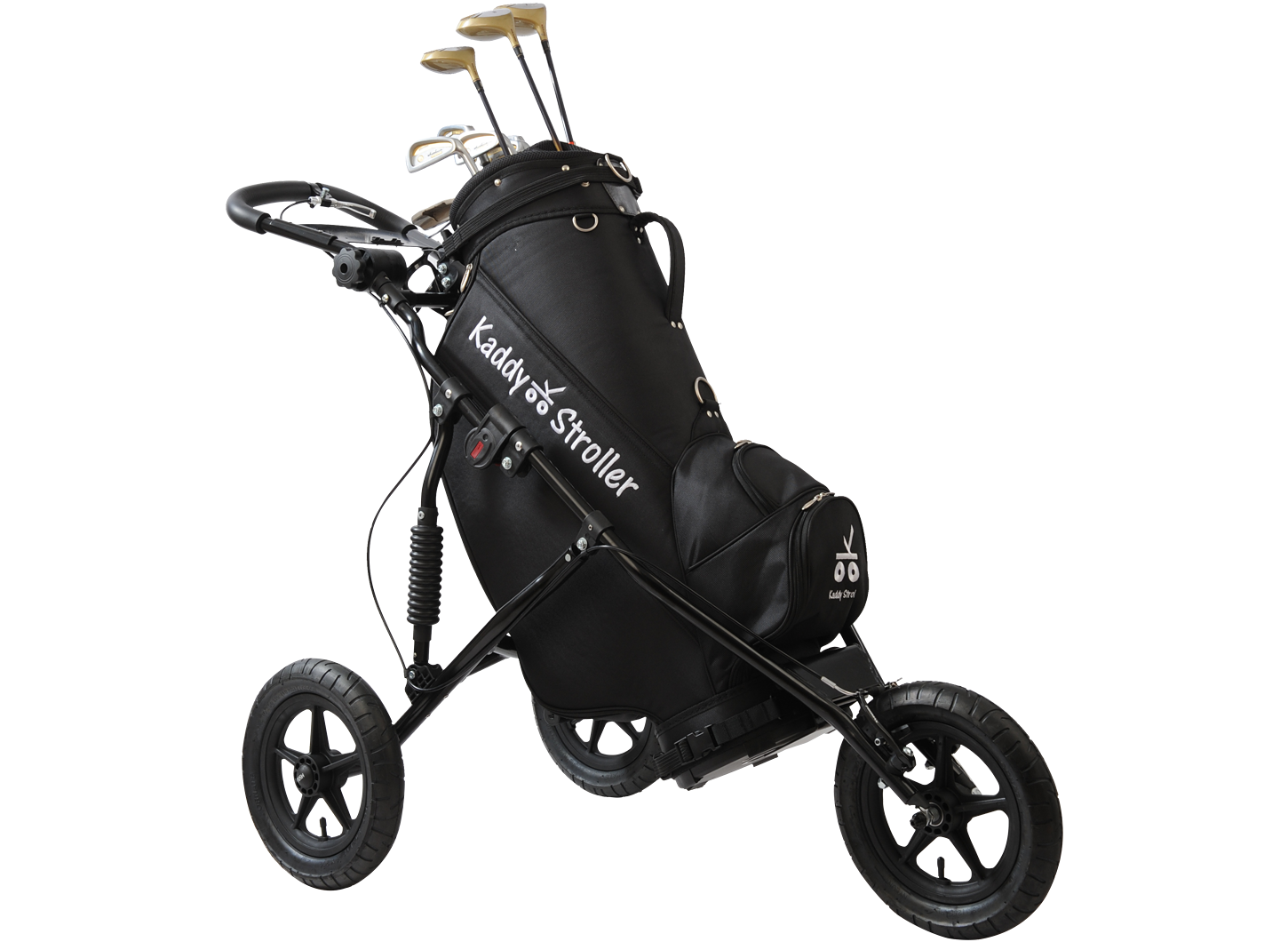 Kaddy Stroller in Obsidian Black