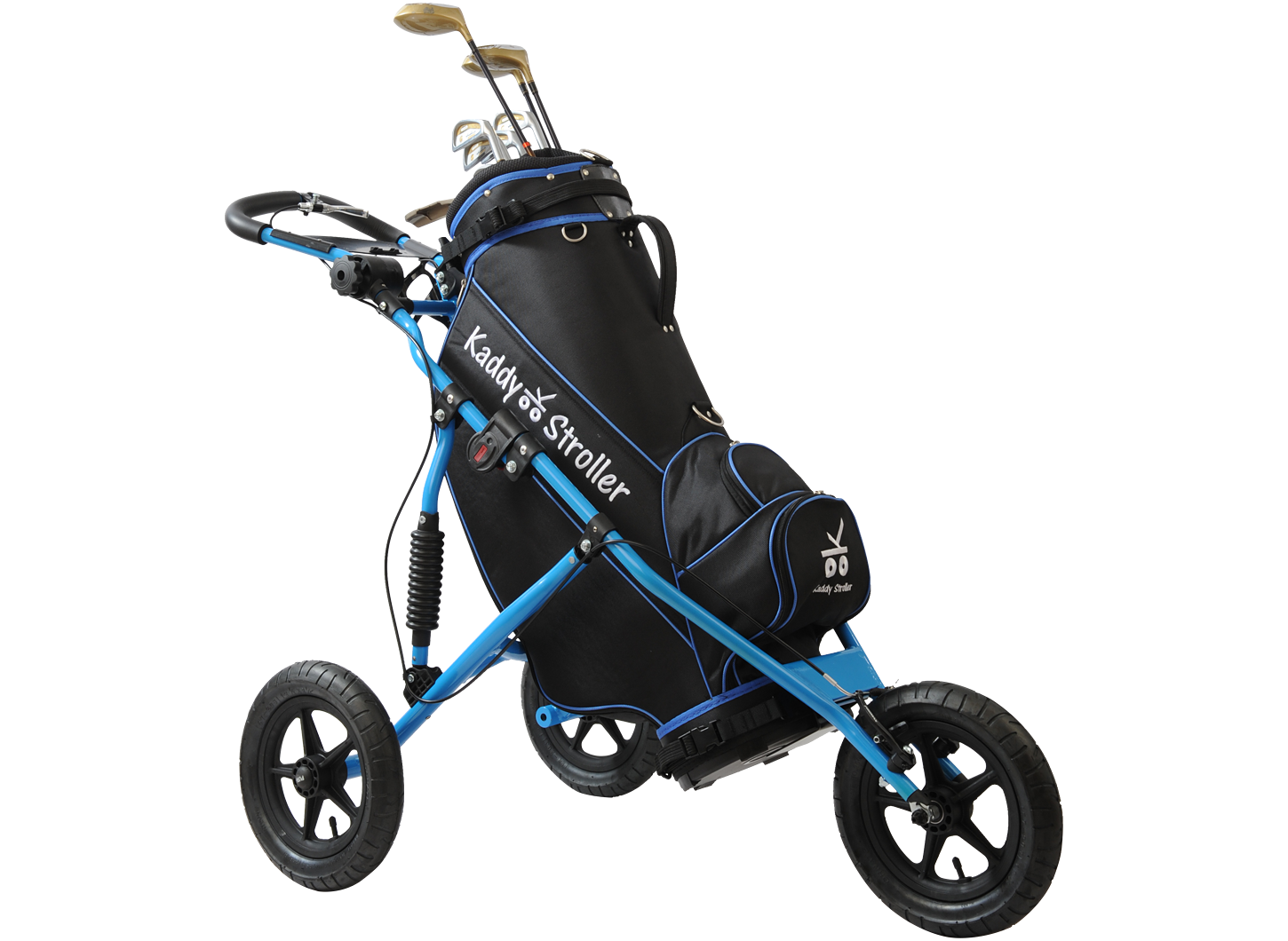 Kaddy Stroller in Brilliant Blue