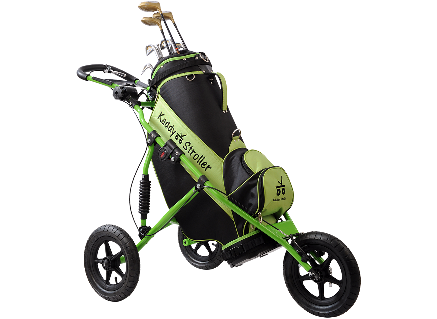 Kaddy Stroller in Vivid Green